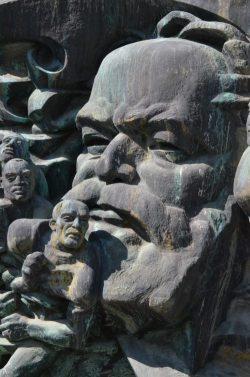 """""""Aufbruch"""" - Detail: Karl Marx"""